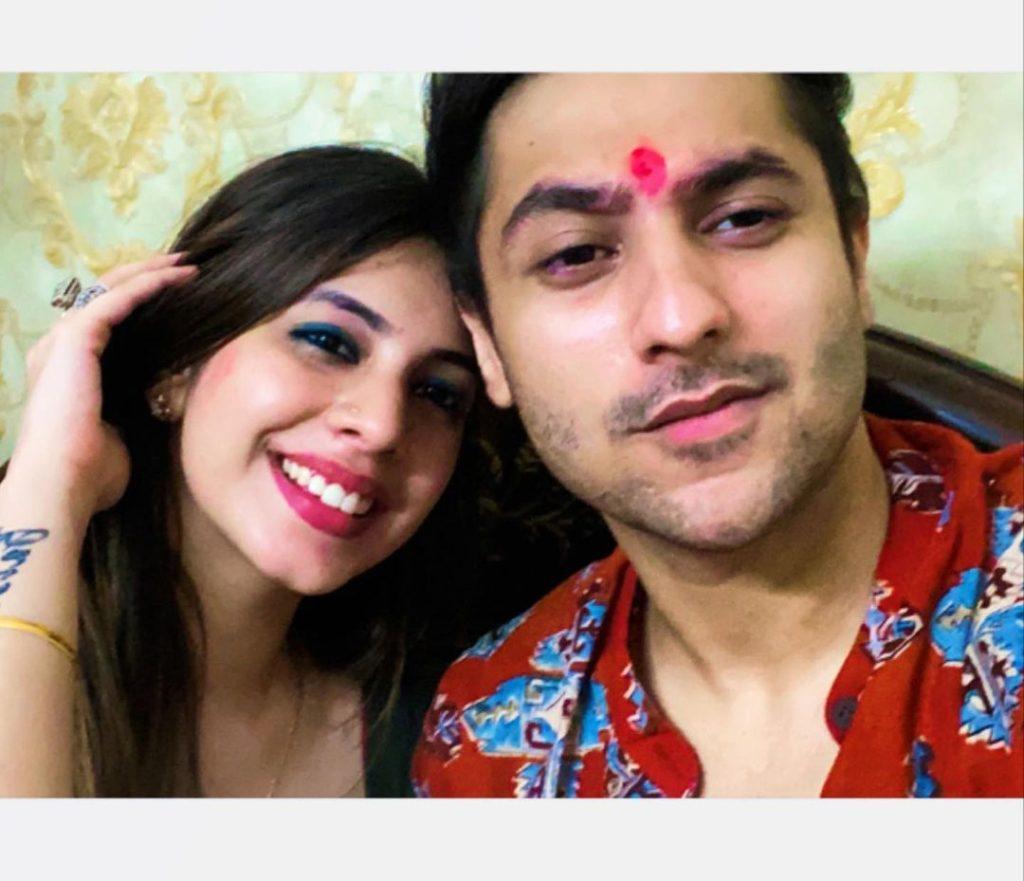 Harsh Beniwal with his Sister Priya Beniwal image: starwikibio Source:- instagram.com