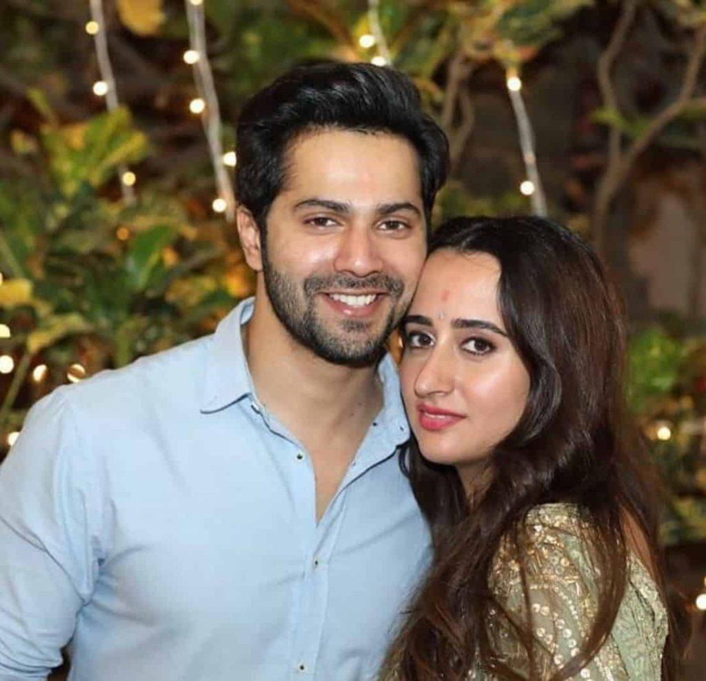 Varun Dhawan and Natasha Dalal image: starwikibio Source:- instagram.com