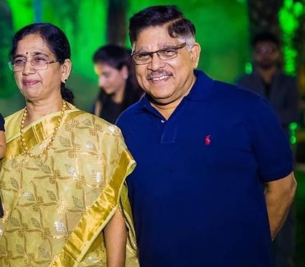 sneha reddy's father in law and mother in law